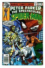 PETER PARKER, SPECTACULAR SPIDER-MAN #28(3/79)2nd MILLER DAREDEVIL(CGC IT)F/VF!!