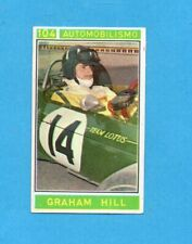 CAMPIONI dello SPORT 1967/68-Figurina n.104- HILL -AUTOMOBILISMO-Recuperata