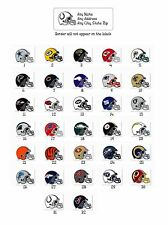 Personalized Return Address Labels Football Buy 3 Get 1 free (f12)