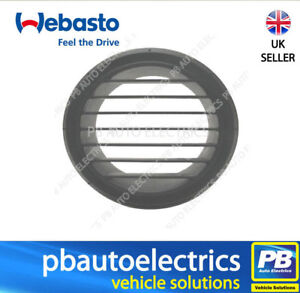 Webasto Air Top Heater Evo Outlet 90 Degrees (90 mm) Grey – 9012290A