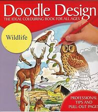 WILDLIFE COLOURING BOOK - ART THERAPY