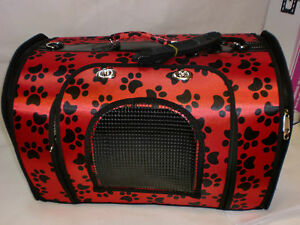 Dog Cat Puppy Pet Carrier Travel Bag Cage Crate Foldable Leisure kennel Tote UK