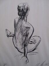 Japanese  Print -  Yoshinori Ikeda - Nude #5/100