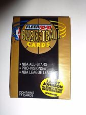 1992 - 93  Fleer Basketball Series 1 Pack (x1) Fresh from a Sealed Box!