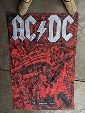 New listing Ac/Dc Flag 3' X 5' Official Tour Merchandise - Rock n Roll Train Black Ice Tour