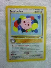 Carte pokémon toudoudou 46/75 peu commune neo discovery