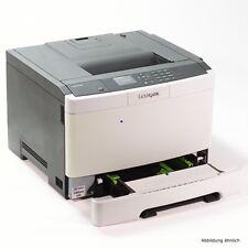 Lexmark CS410DN Color Drucker Laserdrucker gebraucht 8420 Seiten gedruckt