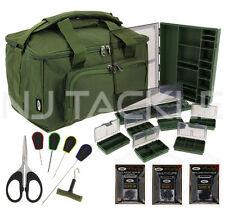 New Ngt Green Quickfish Carp Coarse fishing Carryall Needle set & Tackle box !!!