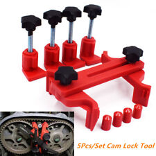 5Pcs/Set Car Dual Cam Clamp Camshaft Timing Sprocket Gear Locking Tool ear Fixed