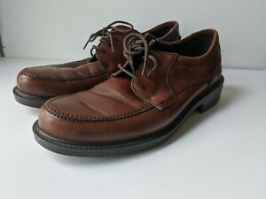 ECCO Men's Boston Lace Up Derby Oxfords Comfort Dress Shoes Euro Size 42
