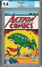 Superman Action Comics #1 Loot Crate June 1938 Full 68 page Reprint CGC 9.4!!!