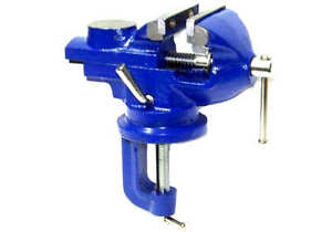 """2""""  Swivel  Bench Vise Clamp With Anvil Vice Hobby  Tool Table Vise type 50mm"""