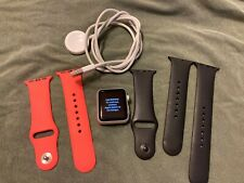 Apple Watch Series 1 38mm Aluminum Case Smart Watch - Silver - EUC