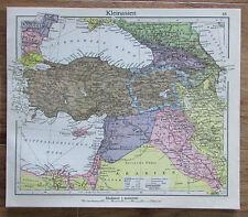 Kleinasien Asia - alte Karte Landkarte aus 1922 old map
