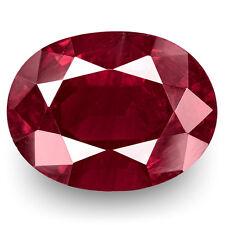 4.48-Carat Rare Unheated Rich Purplish Red Kashmir-Origin Ruby (GRS-Certified)