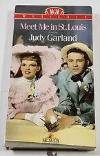 Meet Me in St. Louis VHS Movie Judy Garland