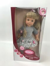 Goetz-Stehpuppe-Puppe-Jessica 46cm Gummistiefel NEU/OVP