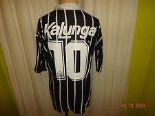 Corinthians Sao Paulo Original finta matchworn maillot 1990/91 + Nº 10 Taille M-L