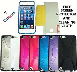 X Line S Case Cover + Screen Protector For Apple iPod Touch 5 6 & 7 Generation