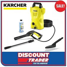 Karcher High Pressure Washer Cleaner 1.4kW 1600PSI K2 Basic Car Kit 1.602-121.0