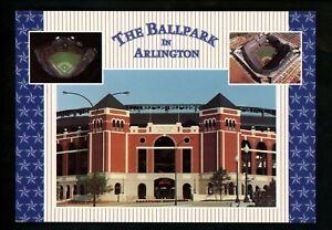 Sports Stadium postcard Texas TX, Arlington Stadium Rangers baseball