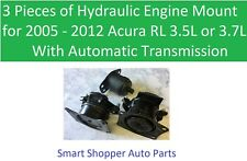 Engine Mount for 2005 2006 2007- 2012 Acura RL Automatic Transmission - 3 Pieces