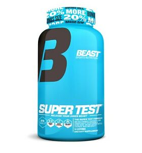 Beast Super Test (216): Most Powerful Testosterone Booster for Libido & Stamina