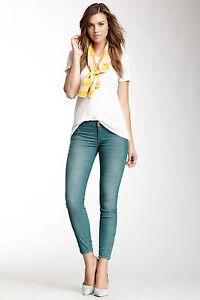 *NWT* 28 Stitch's Women's Ana Corduroy Skinny Evergreen Pants #WANAC90 MSRP:$175