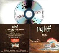 DEWOLFF Thrust Album Sampler 2018 UK 5-trk promo test CD