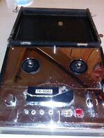 Monacor  TR-508X vintage REEL TO REEL PLAYER powers up chrome estate find