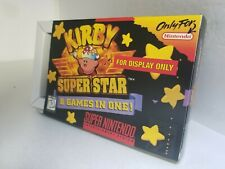 KIRBY SUPER STAR Official SNES Display Only Box W/Cardboard Insert NO GAME  C16