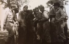 REAL PHOTO 1948 INDEPENDENCE WAR ISRAEL ARMY IDF SOLDIERS ZAHAL ISRAELI
