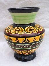Vase Faïence Saint Jean de Bretagne Décor n° 3900