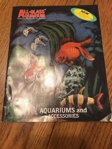 """All Glass Aquarium- Aquariums And Accessories Only This """"Book """" Ships N 24h"""