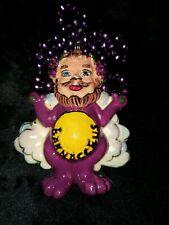 Barney 2003 Krewe of Bacchus Float Theme Bead Fantasy World Mardi Gras Dinosaur