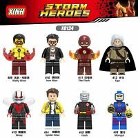 Bausteine Filmcharak Figur Superheld Wally West Iron Man Wasp Hush Modell 8PCS