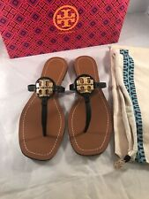 Tory Burch  Mini Miller Lether Thong Sandals Size 7.5