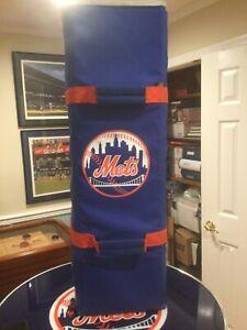 New York Mets game used player bat bag.