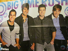Big Time Rush, Selena Gomez, Double Four Page Foldout Poster
