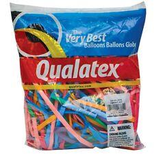 100 Modellierballons Qualatex 260Q Luftballon - Traditional Mix