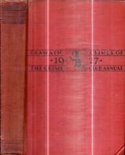 Very Rare 1928 True Crime First Edition Murder Vigilante Justice Louisiana N.J.
