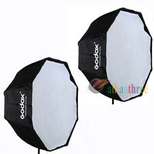 2Pcs GODOX 120cm Octagon Flash Light Softbox Umbrella Fr Speedlite Studio Strobe
