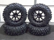 "CAN AM DEFENDER XT  27"" QUADKING 14"" SLICER ATV TIRE & WHEEL KIT 522 BIGGHORN"