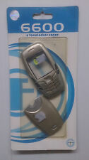Replacement Fascia for Nokia 6600 - Case Housing Cover & Keypad Silver