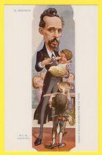 Belle cpa Illustrateur MOLOCH CARICATURE Gustave MESUREUR PR Assistance Publique