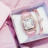 Women Fashion Wrist Watch Boho Bangle Alloy Dress Bracelet Analog Quartz Watch