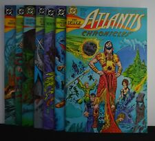 Atlantis Chronicles #s: 1,2,3,4,5,6,7 (DC, 1990)  MiniSeries, Set complete