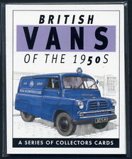 British Vans of the 1950's - Collectors Card Set - Bedford CA Ford Thames Commer