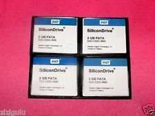 Lot FOUR 2GB  Flash Memory Cards CF CompactFlash card  2 GB  FREE SHIP
