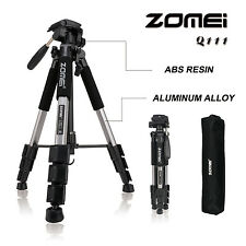 ZOMEI Portable Professional Travel Aluminium Tripod Pan head  for DSLR Camera